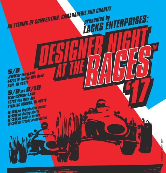 Desight Night at the Races #59-61 May 2017 Detroit