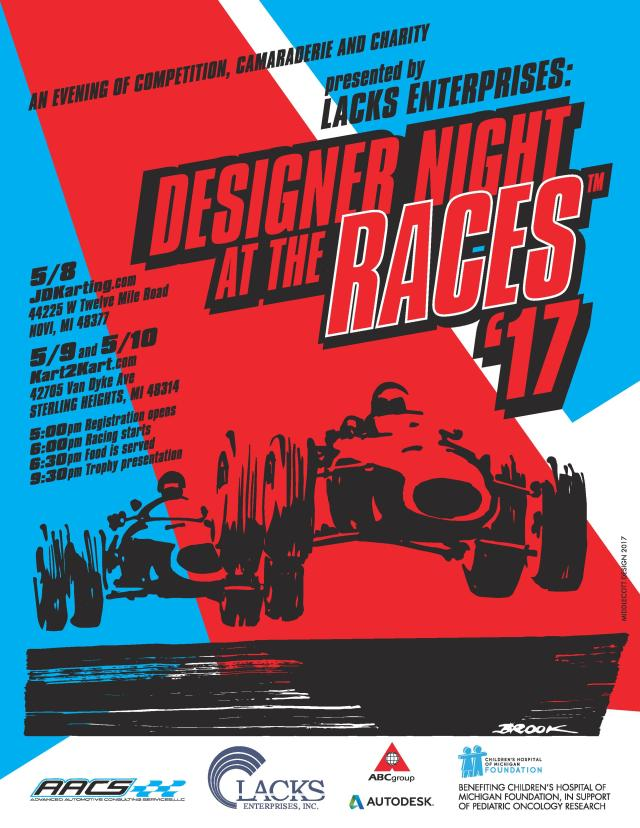 Desight Night at the Races #59-61 May 2017 Detroit3