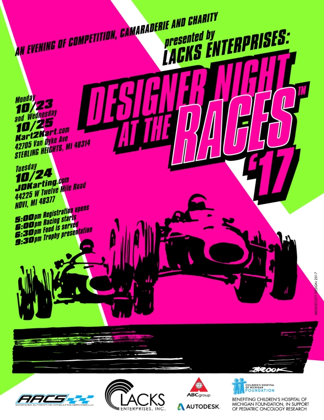 Desight Night at the Races #65-67 October 2017 Detroit2