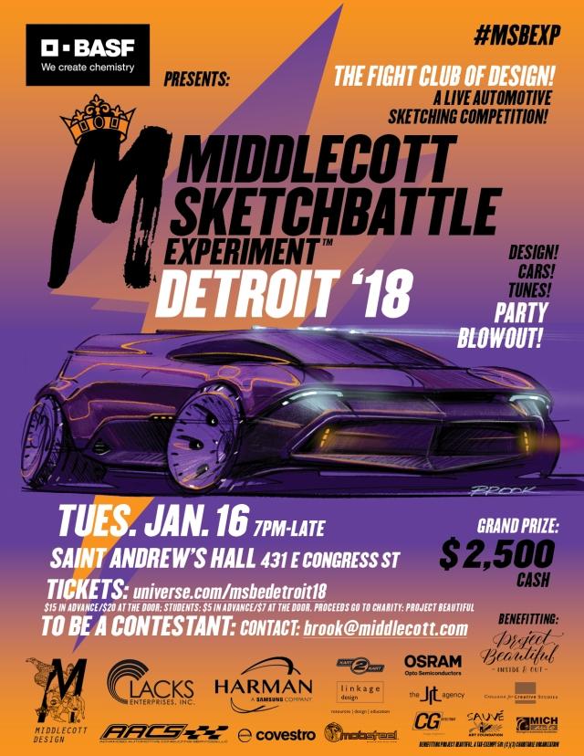Middlecott Sketchbattle Experiment Detroit 2018 v9