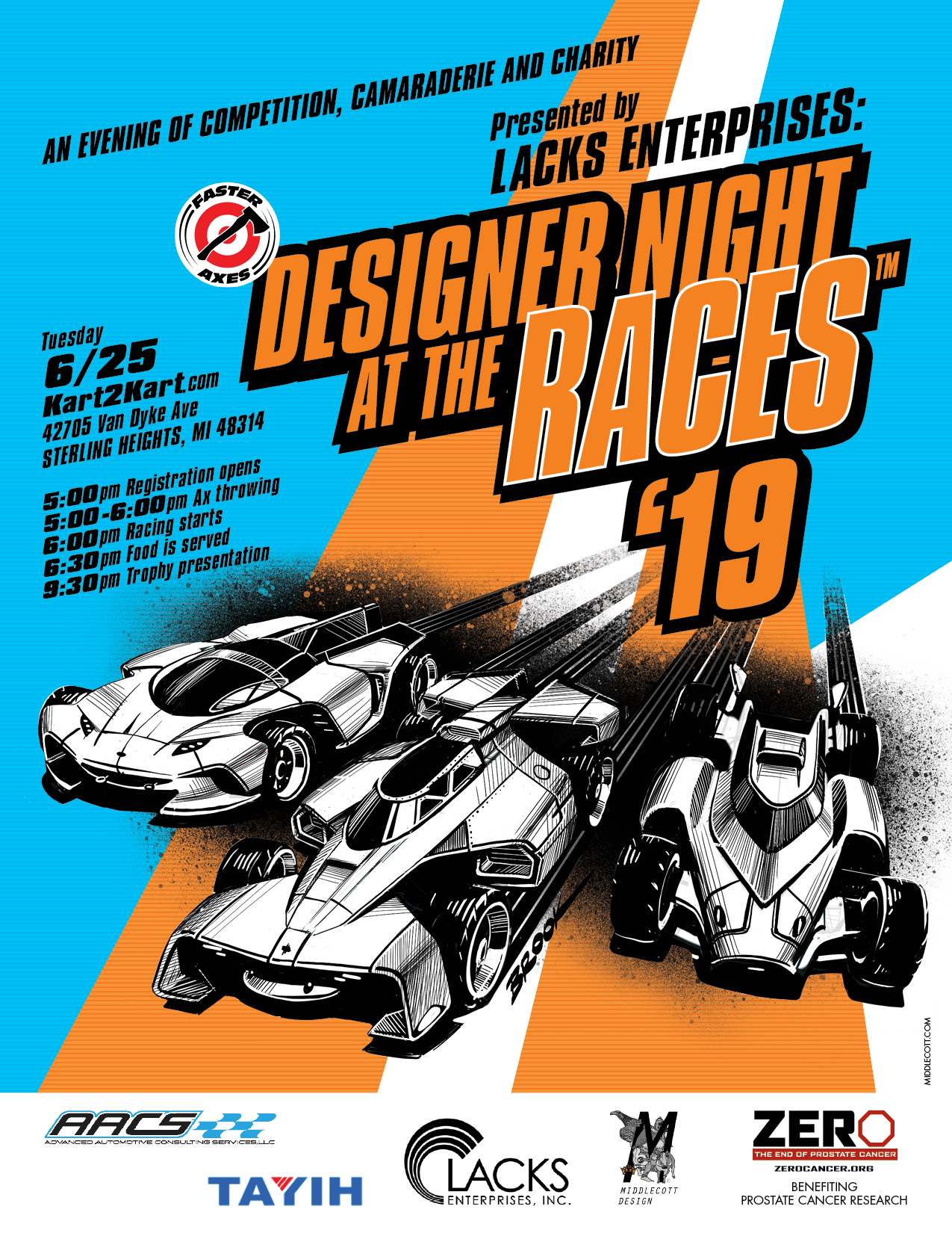 74th Designer Night at the Races June 25th 2019 Save the Date v3