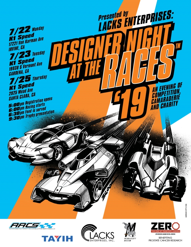 75-77th Designer Night at the Races C ALIFORNIA July 2019 Save the Date