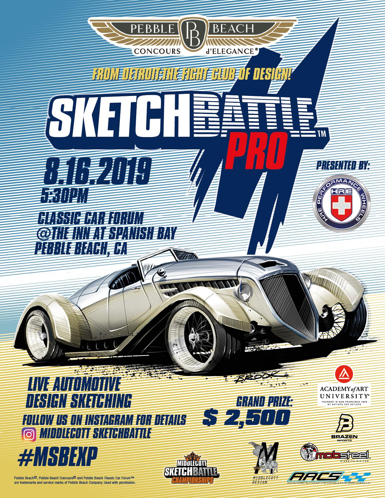 Sketchbattle Pro #18 Pebble Beach flyer_10